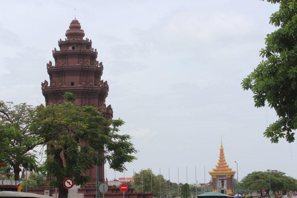 Grey skies in Cambodia