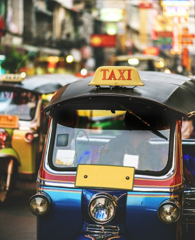 Tuktuk in Bangkok, Thailand