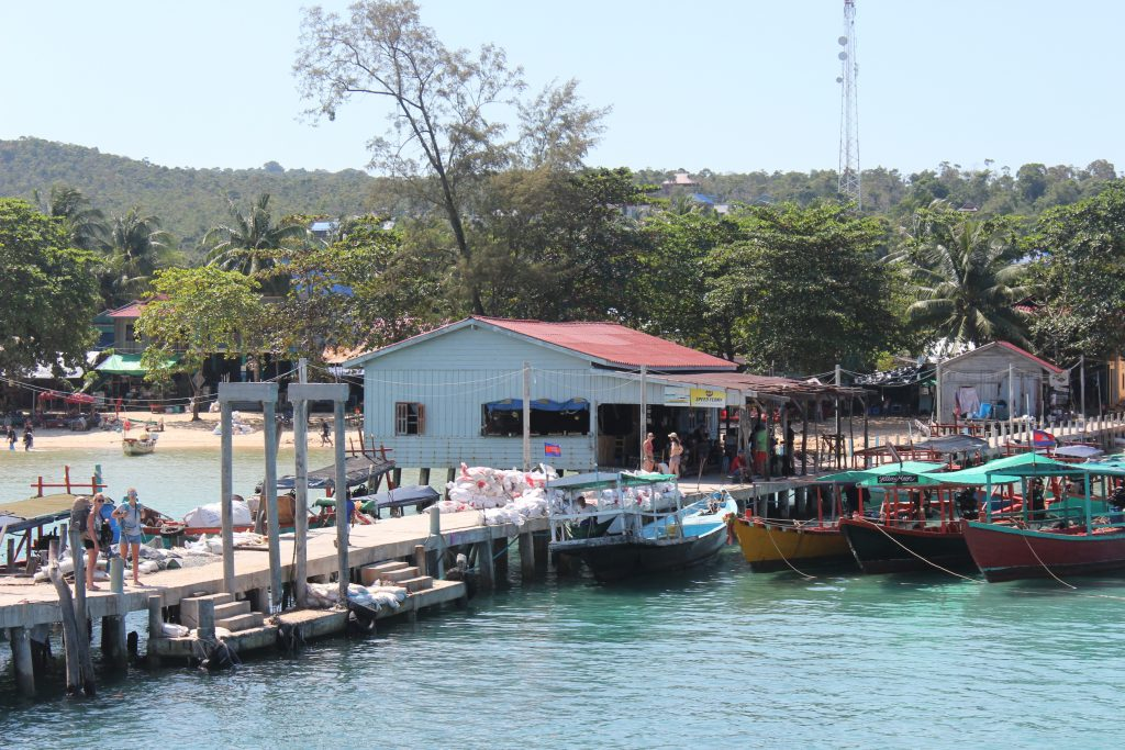The pier at M'Phey Bey Village