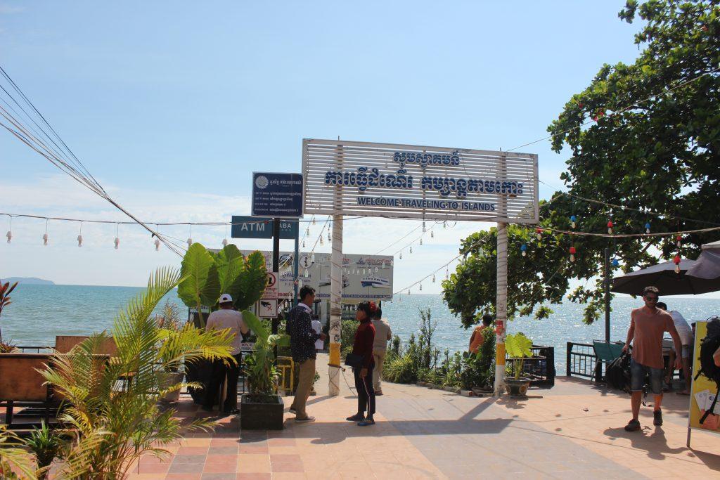 Serendipity pier in Sihanoukville