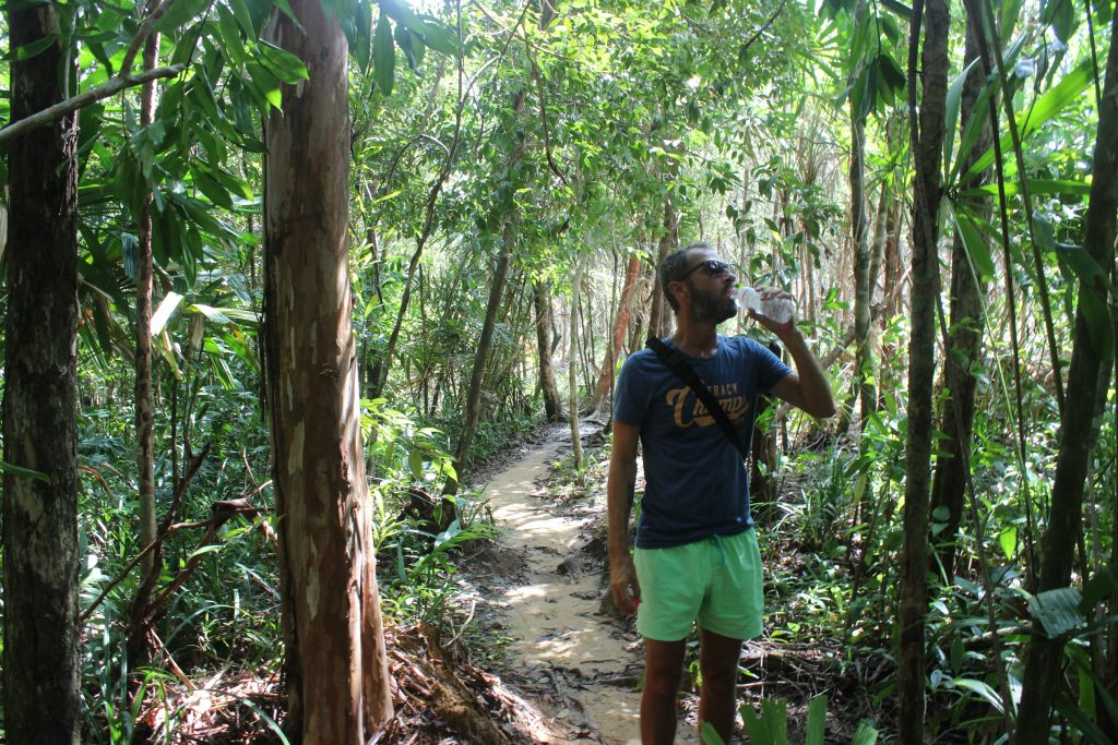 Trekking on Koh Rong and Koh Rong Sanloem