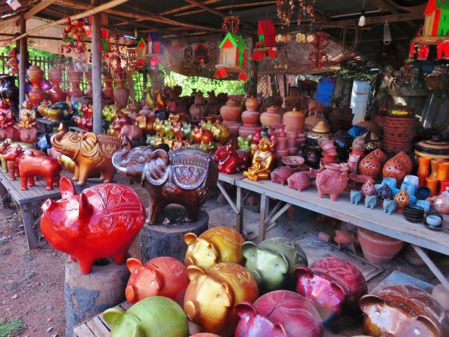 Pottery village near Kampong Chhnang