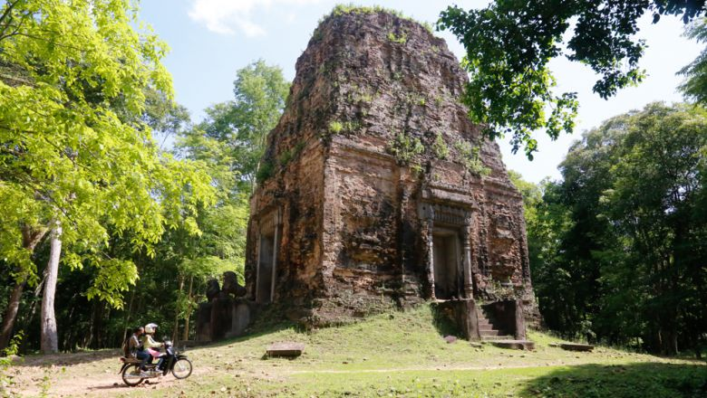 Temple site at Kampong Thom