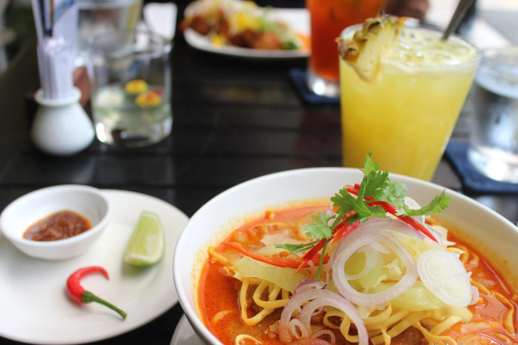 Khmer curry is one of many must eat Cambodian foods
