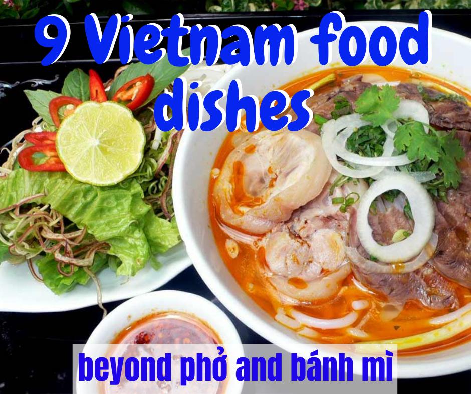 9 Vietnam Foods