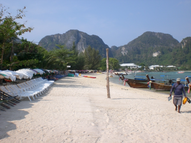 Ko Phi Phi is one of 11 beautiful beaches in Thailand