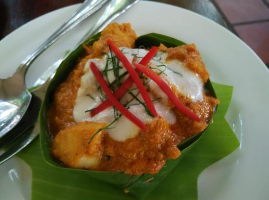 Fish Amok is one of many must eat Cambodian foods