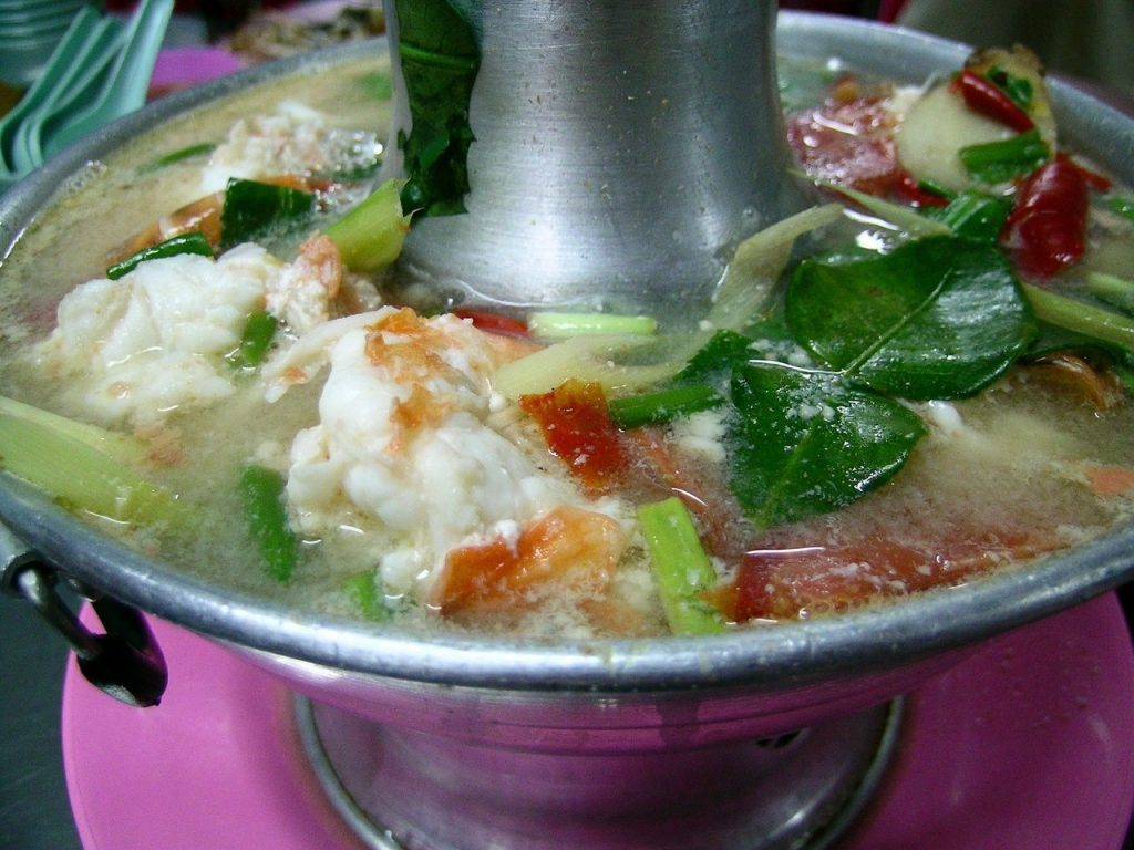 Hotpot is one of many must eat Cambodian foods