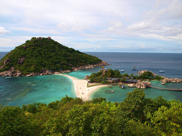 Ko Tao is one of 11 beautiful beaches in Thailand