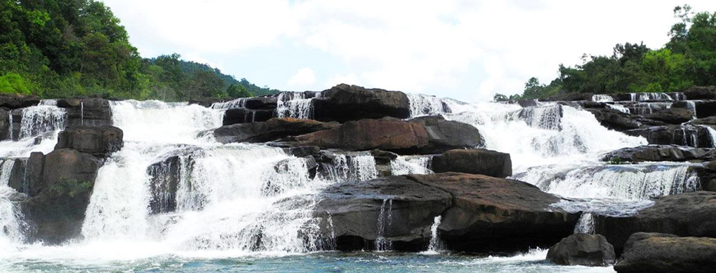 Waterfall in Koh Kong