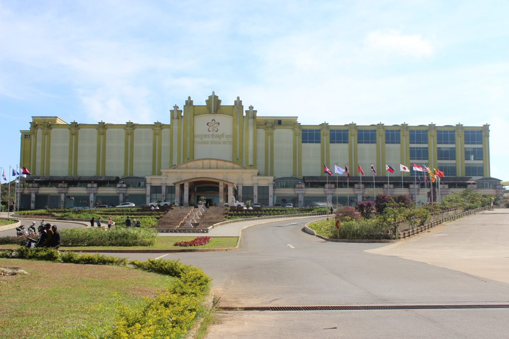 New casino on Bokor Hill in Kampot