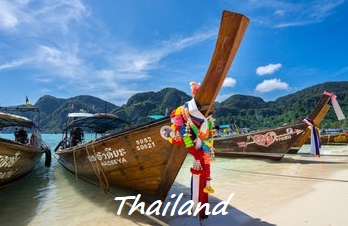 Thailand is a destination in South East Asia