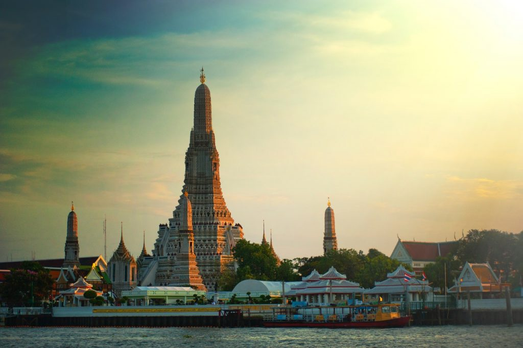 Wat Arun near the Bangkok Grand Palace