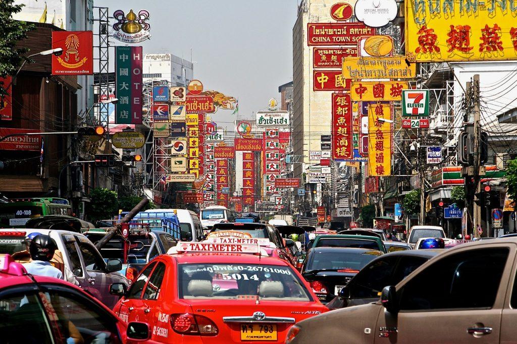 Chinatown Bangkok trafic