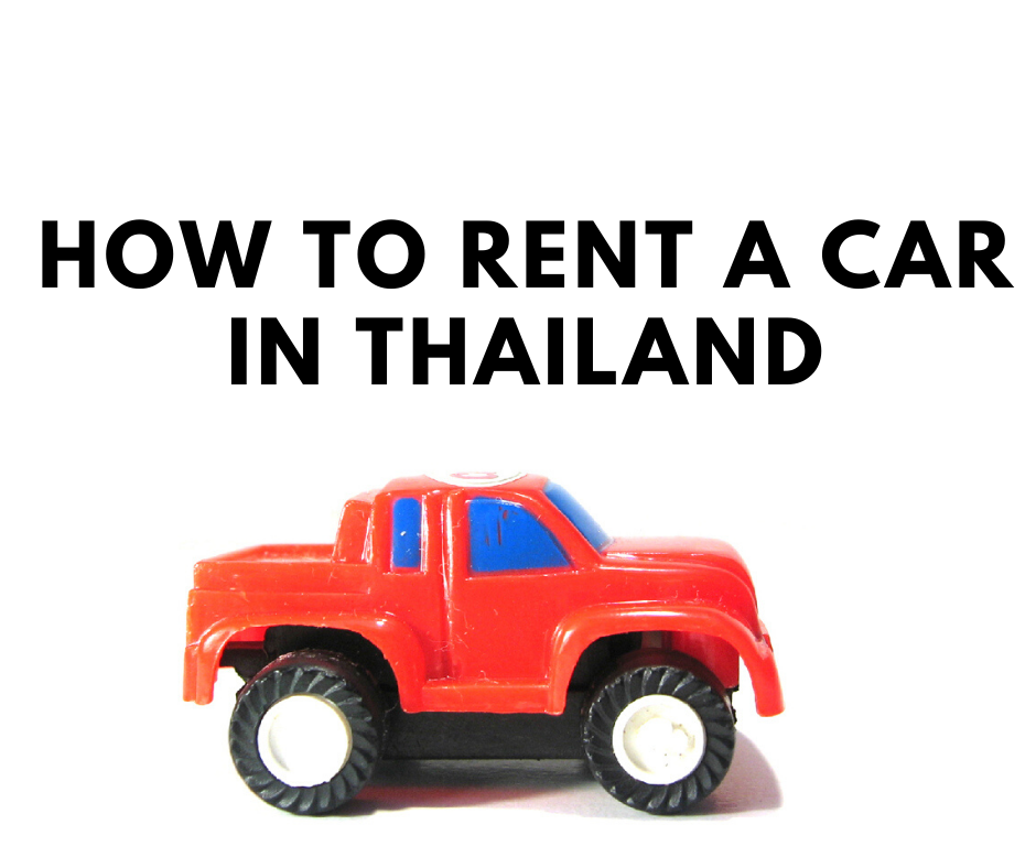 Rent a car in Thailand