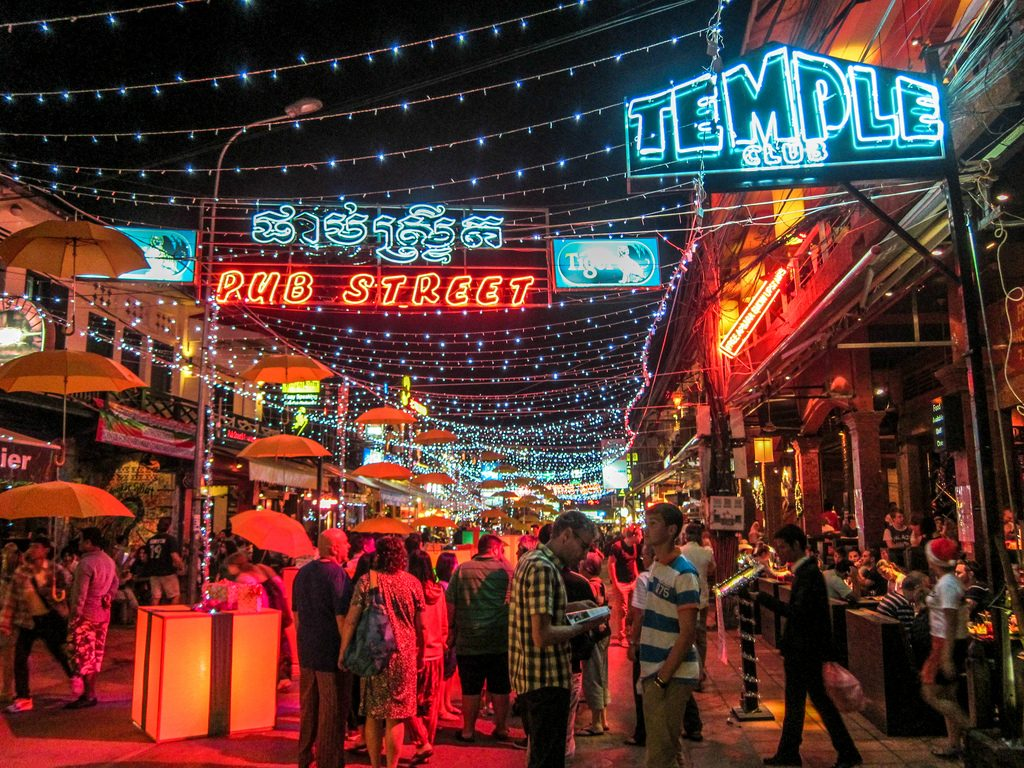 Pub Street - Things to do in Siem Reap