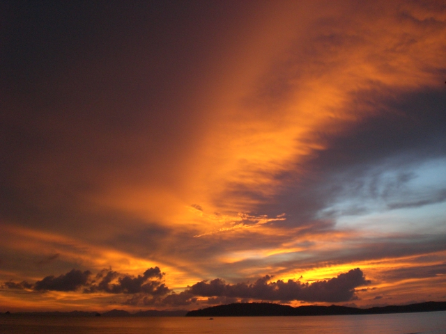 Ao Nang sunset - Things to do in Krabi