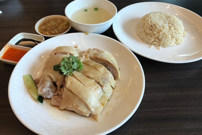 Hainanese Chicken Rice - must eat malaysia foods