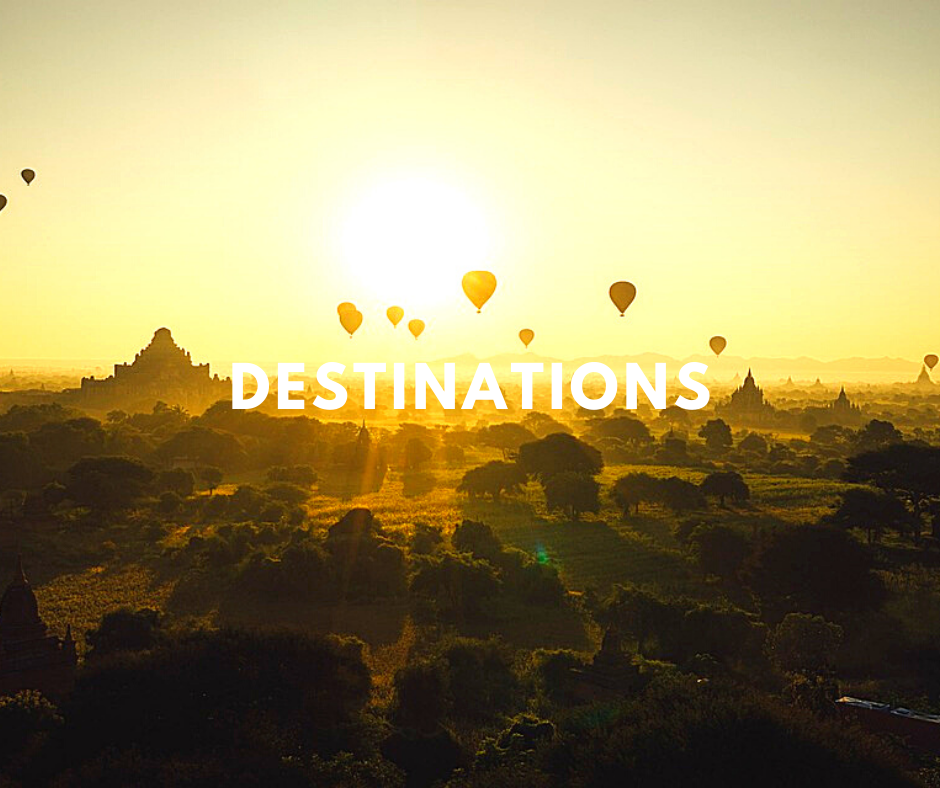 Home page - go to Destinations