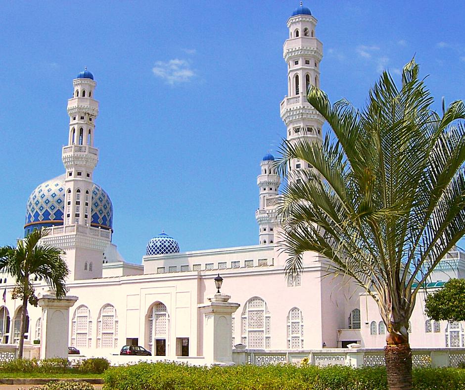 Kota Kinabalu Sabah State Mosque