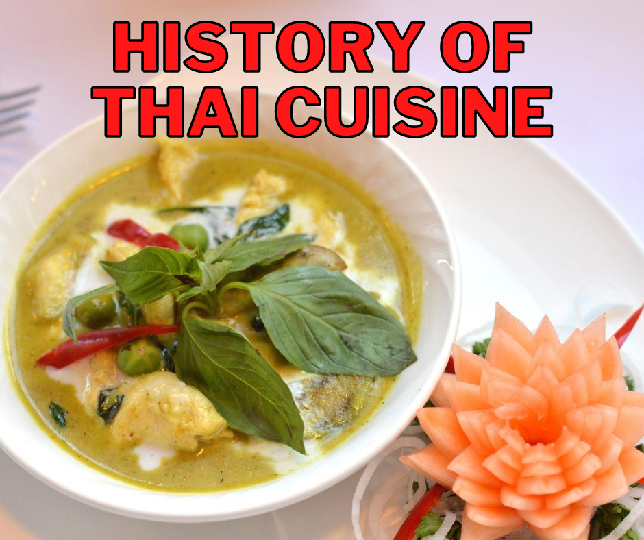 Cover - History of Thai Cuisine