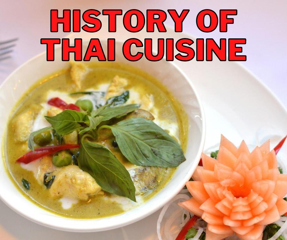 Cover - History of Thai Cuisine