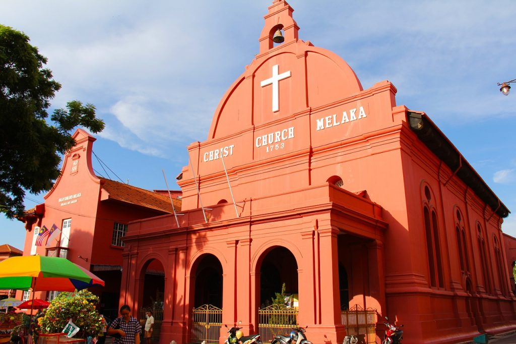 Church in Malacca - Malaysia