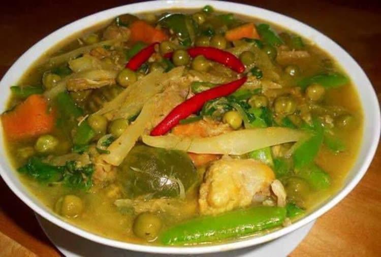 Samlor Korko - 5 Cambodian foods