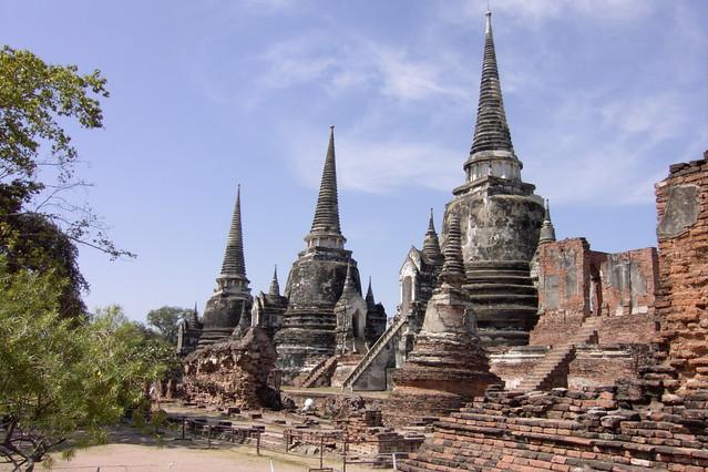 Ayutthaya temples - Thailand