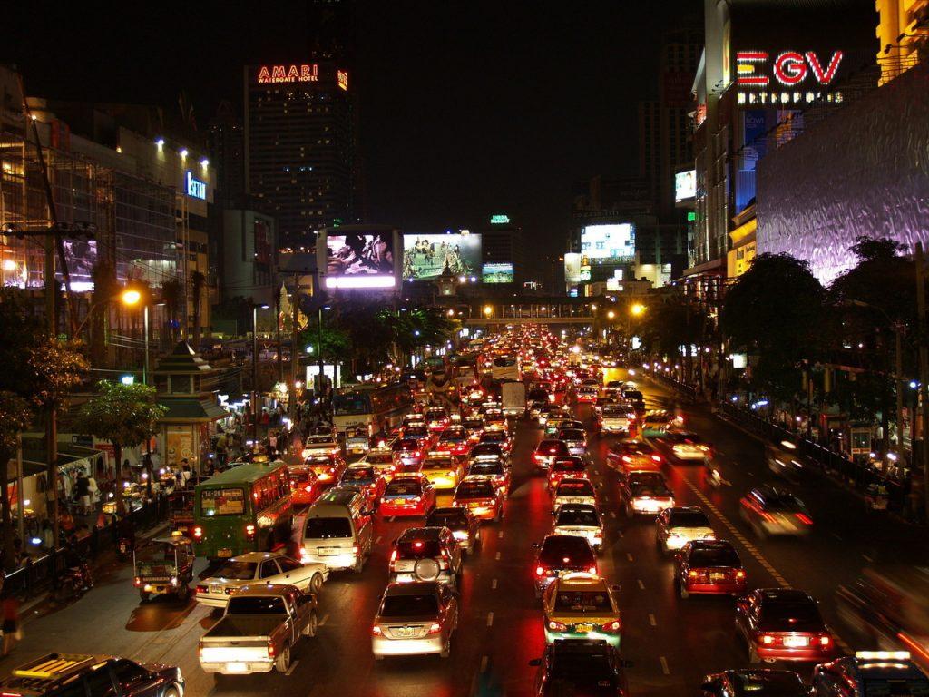 Bangkok traffic - Thailand