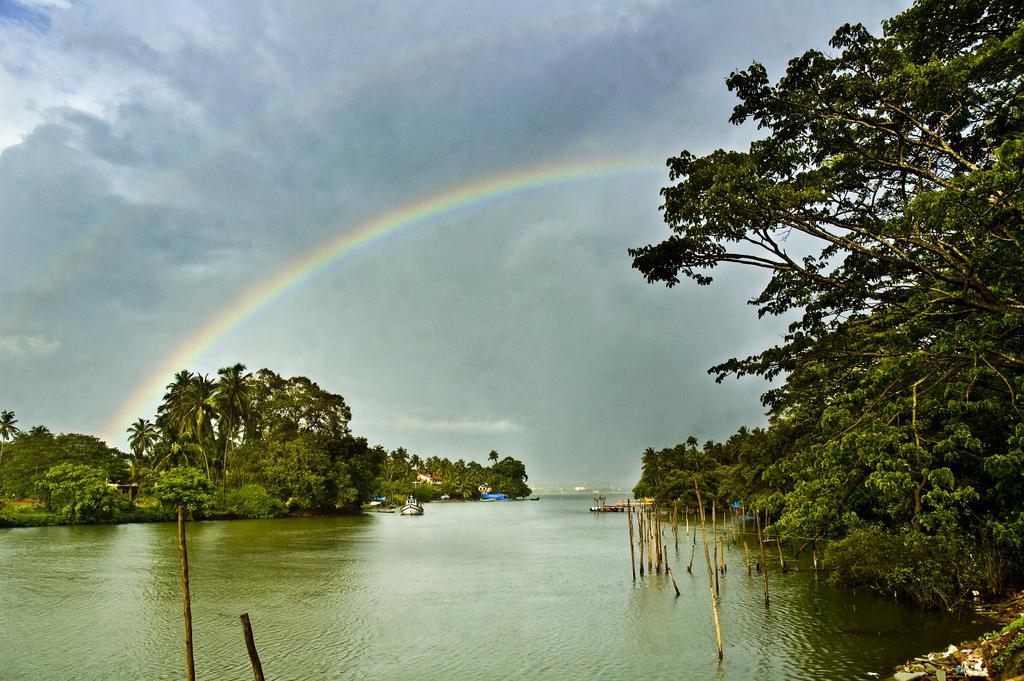 Monsoon season in Malaysia