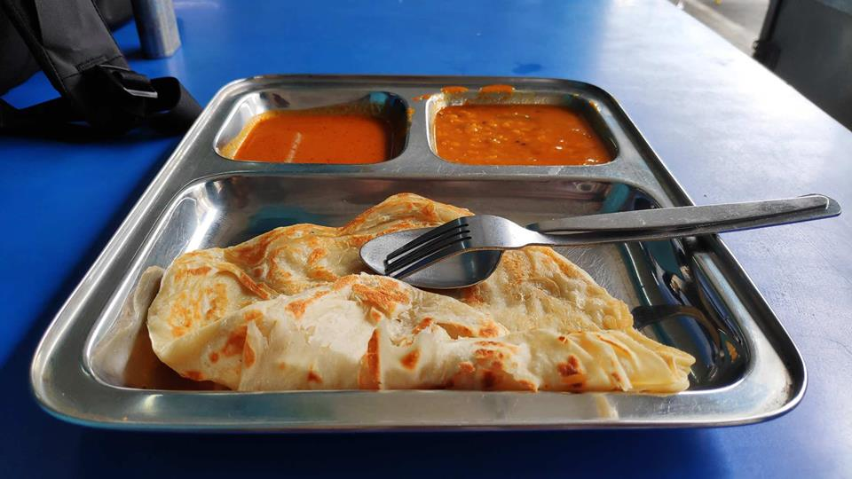 Roti Canai - must eat malaysia foods