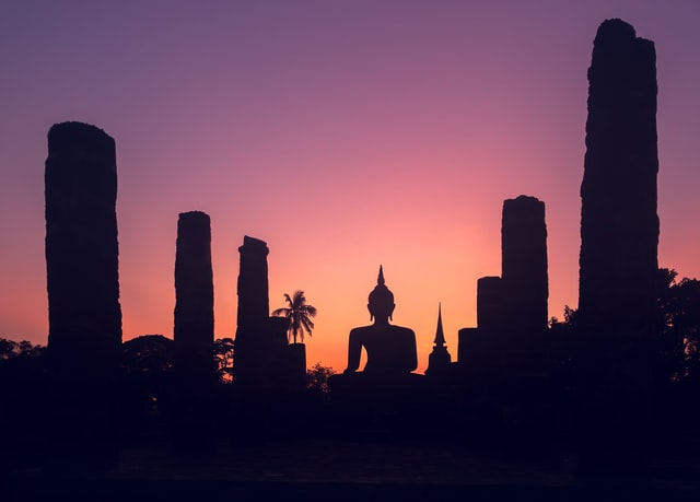 Sukothai sunset - Thailand