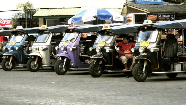 Tuk-tuk Thailand