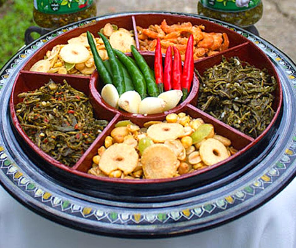 Laphet Thoke - Burmese Tea Leaf Salad
