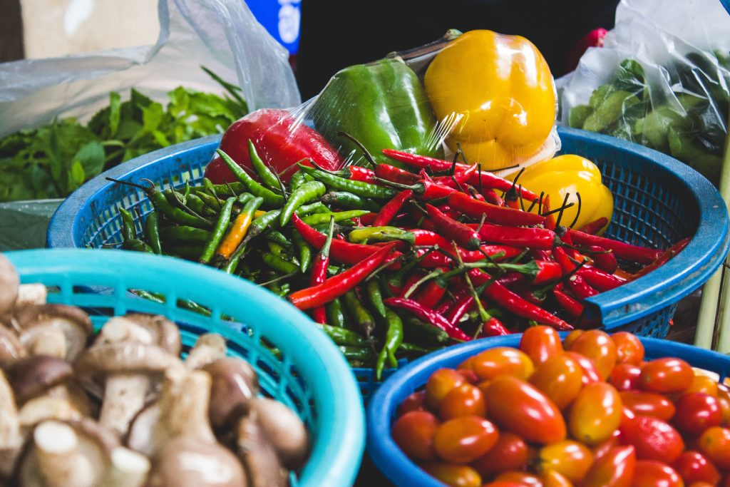 Chilies and spices - History of Thai Cuisine
