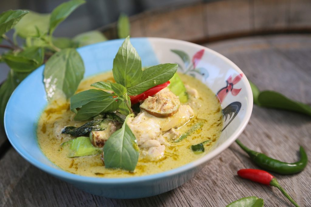Thai Green Curry #11 Best Food in South East Asia