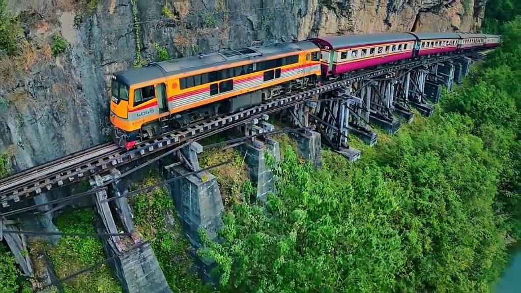 Death Railway in Kanchanaburi