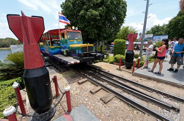 Kiddy train in Kanchanaburi