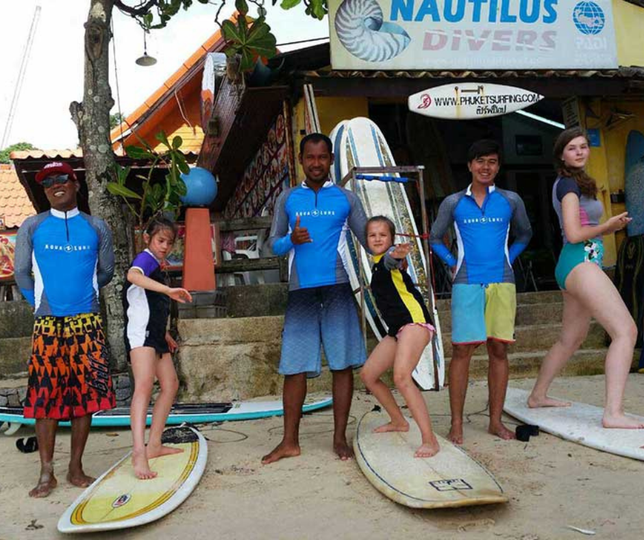 Learn how to surf in Thailand