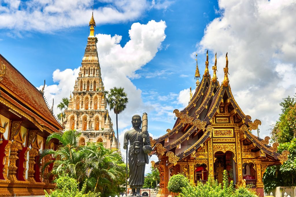 Kanchanaburi is one of the highlights in Thailand