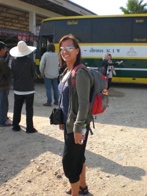 At the Chiang Mai bus station