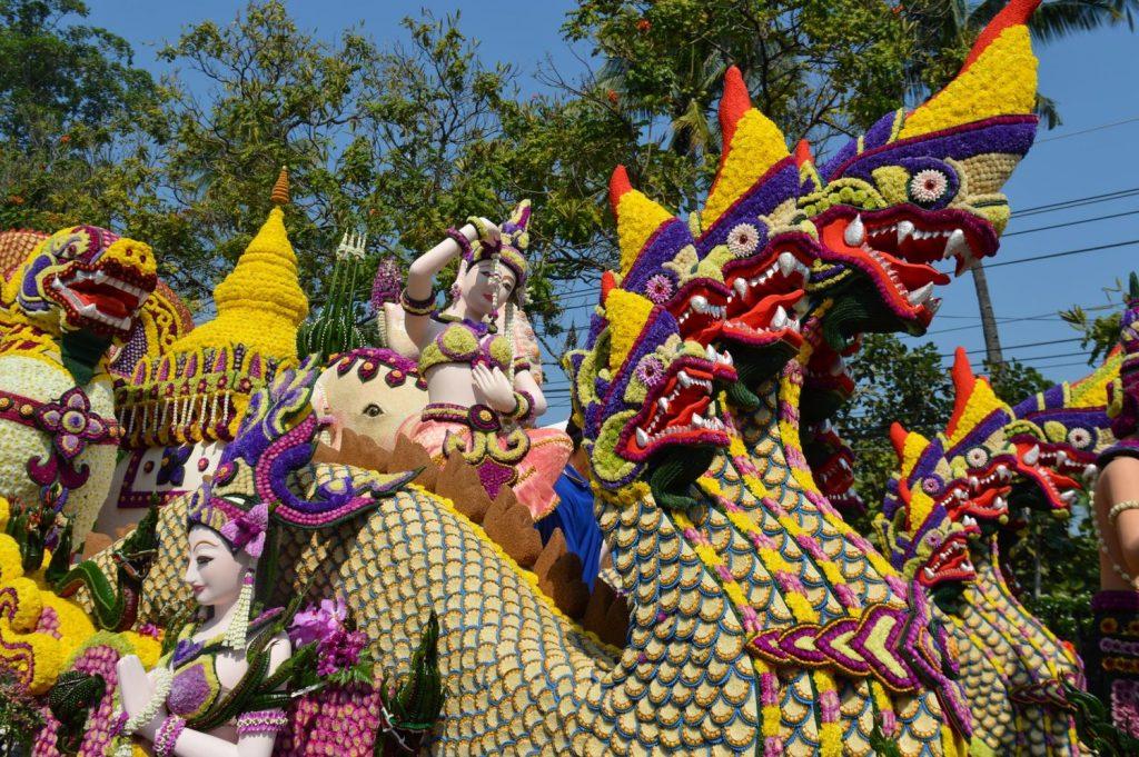 Flower festival in Chiang Mai