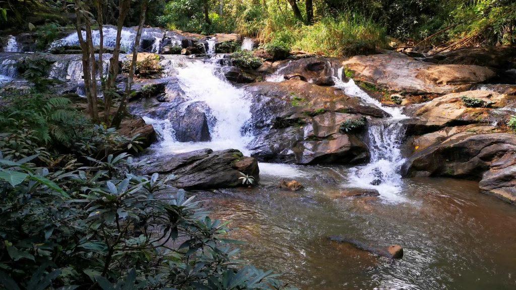 Waterfalls for swimming